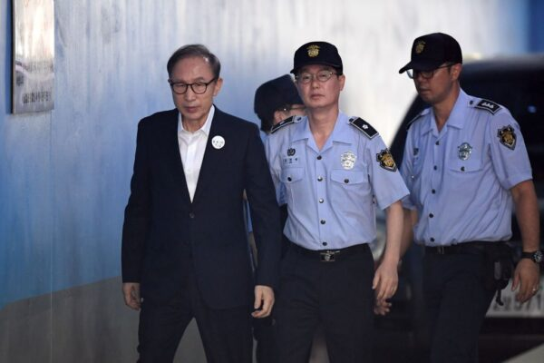 韓前總統李明博涉貪 判17年罰金130億韓元
