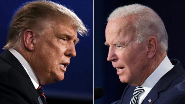 美总统大选第2场辩论取消 川普拜登隔空较量