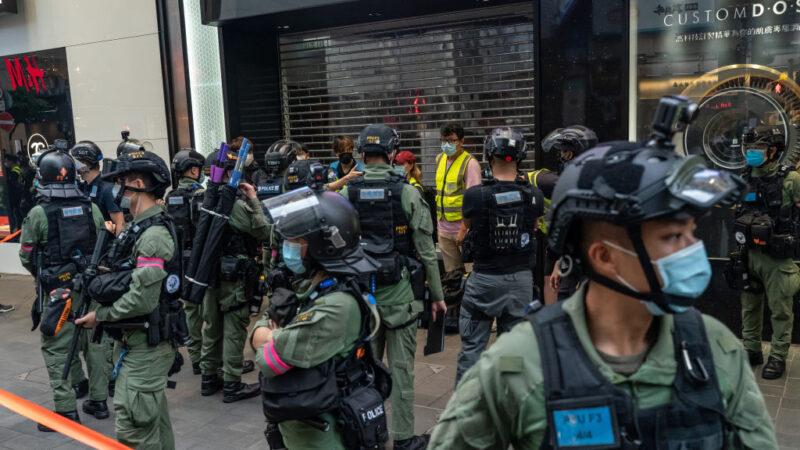 香港10.1中秋行动逾80人被捕 美国务院表愤慨