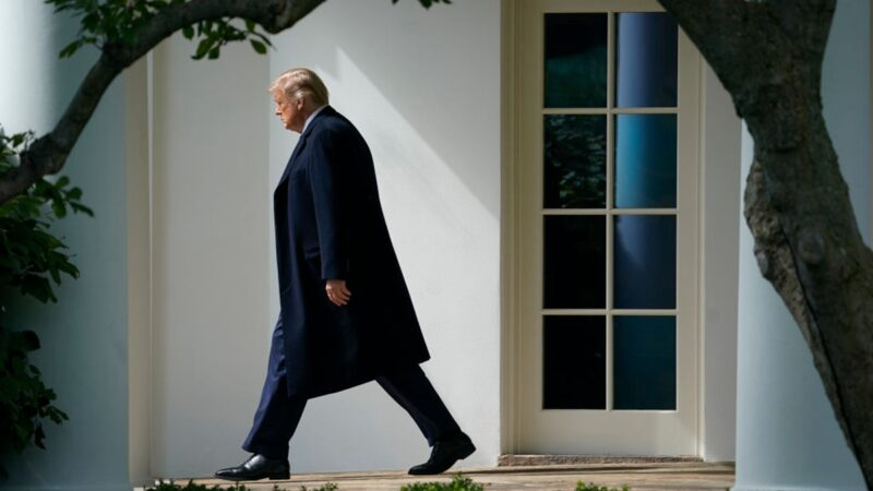 川普检测呈阳性 美国将做何反应?网猜中共下场