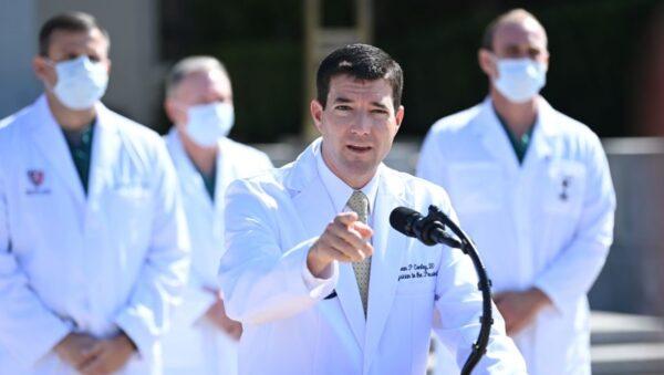 白宫医师:川普疗程结束 10日可恢复公开活动
