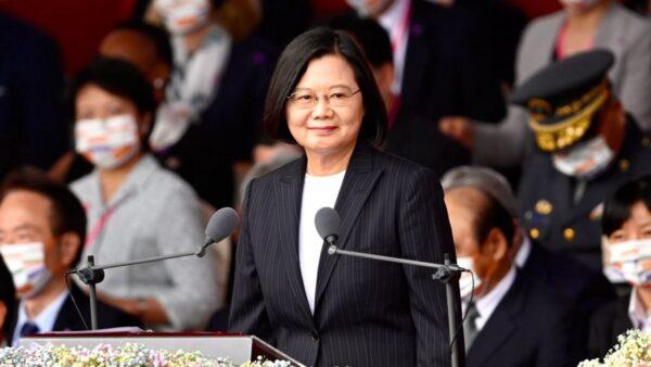 蔡英文:示弱不会带来和平 愿与北京平等对话(附全文)