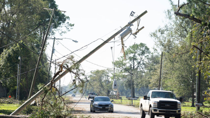 風暴登陸美國創紀錄 路州接連被兩颶風摧殘