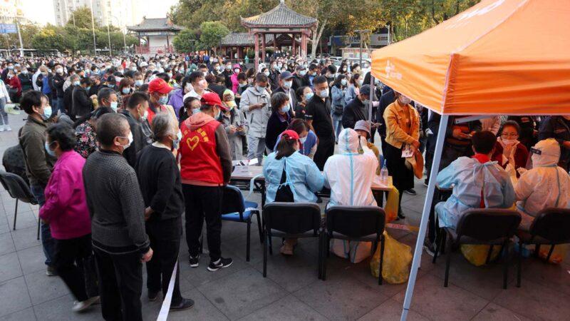 中国疫情四起 山东青岛再爆院内感染