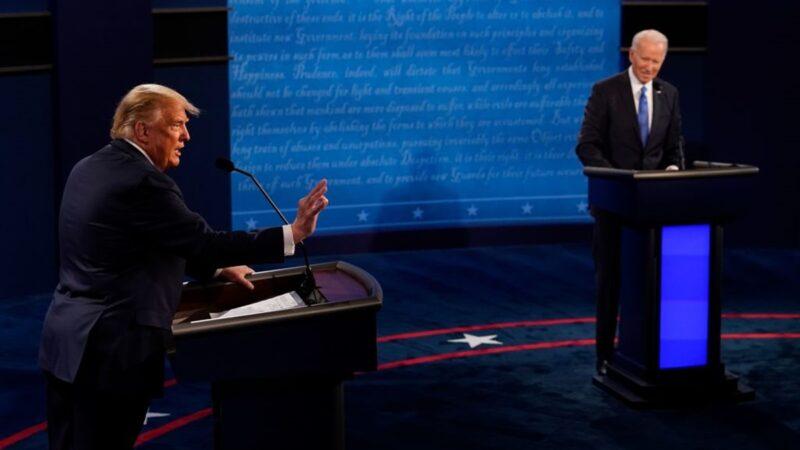 【专家点评 总统大选辩论会】川普与拜登的交锋情况 以及主持人的表现如何?