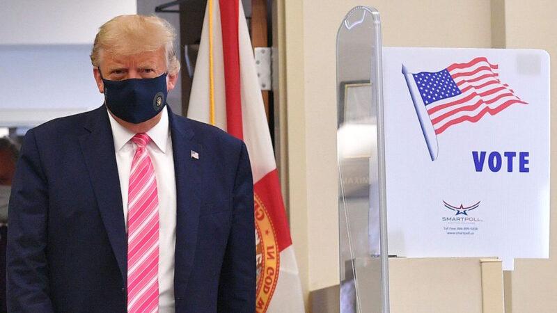 """《石涛聚焦》川普在佛州投票 被记者追问""""投给谁?"""""""