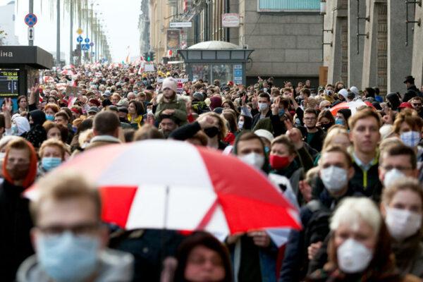 白俄羅斯反對派發動罷工 要求盧卡申科下台