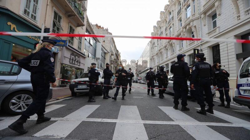 《石涛聚焦》法国尼斯圣母教堂 3人被杀多人受伤 1位妇女被斩头
