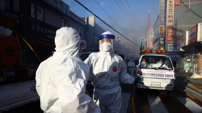 禁會客管制出入口 韓國釜山醫院仍爆群聚感染