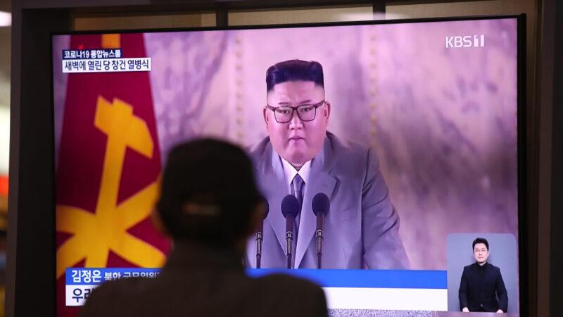 朝鮮罕見半夜閱兵 金正恩演說抱歉又哽咽