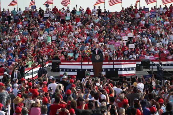 【重播】川普在佛州大選集會上演講(同聲翻譯)