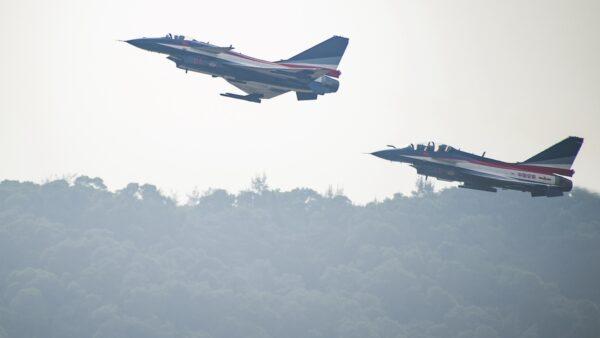 中共擾台基地出事 一架戰機被鳥「擊落」