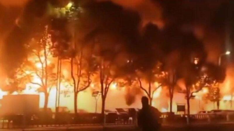 常州大火酿5死2伤  公安称系人为纵火(视频)