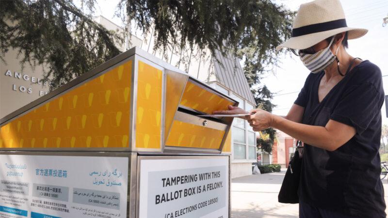 缺總統投票欄 加州2100選民收錯誤選票