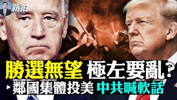 【拍案惊奇】大选日极左骚乱?中共邻国纷纷投美