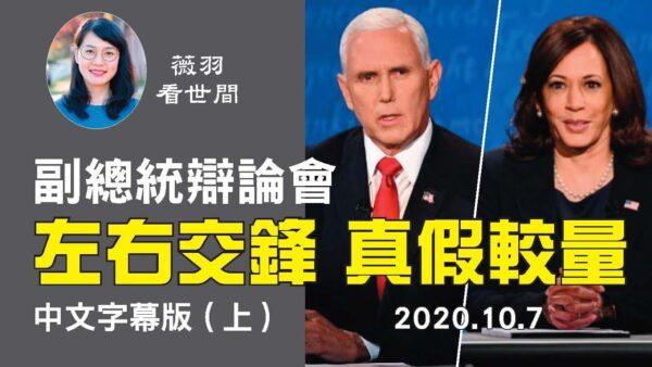 【中文字幕 上】副总统辩论会,候选人作风迥异,别具看点