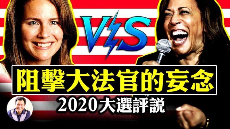 【江峰时刻】贺锦丽参议院阻击战 VS川普提名大法官