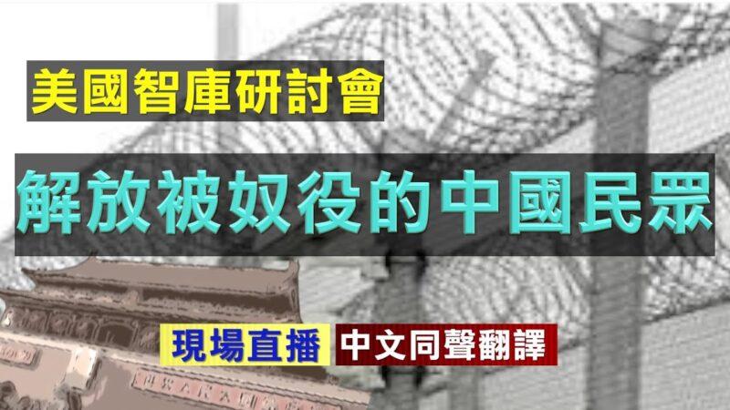 【直播】美国智库研讨会:解放被奴役的中国民众(同声翻译)