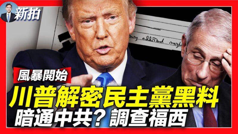 【拍案惊奇】川普抛民主党黑料 调查防疫专家福西