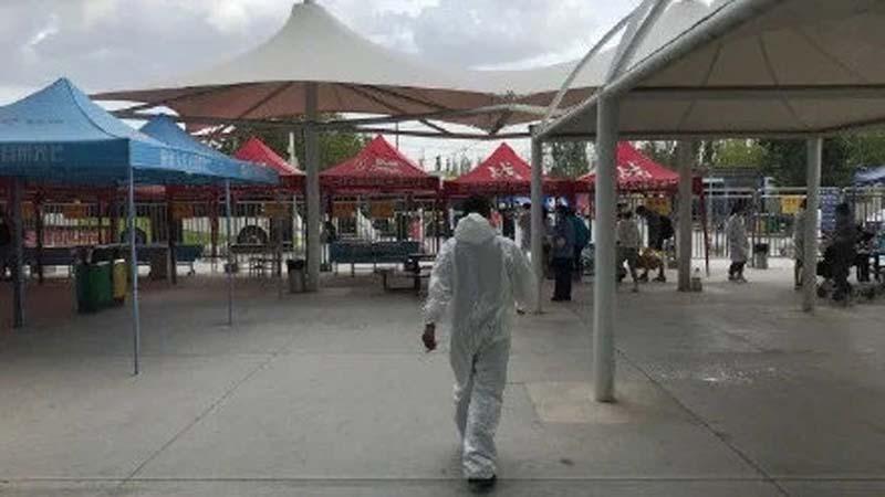 新疆再爆疫情 喀什市全境封锁不进不出