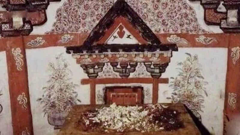 千年古墓墓室驚現12個字 看呆考古專家