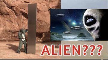 美西荒漠发现神秘金属方碑  是外星文明遗迹?
