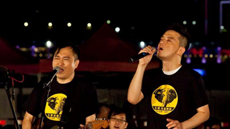 黄耀明演唱会忆中环感慨落泪 吁港人勿收声