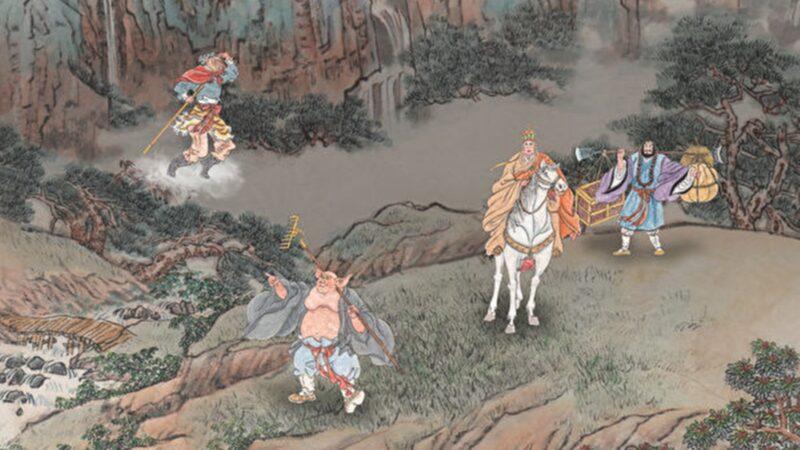 【西遊義趣】之八:悟空用兵法為唐僧壓驚