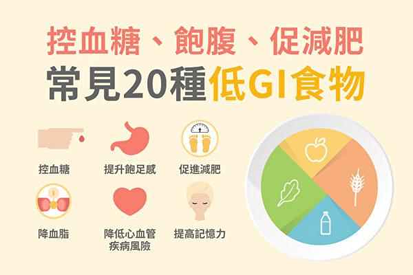 20種低GI食物 控血糖飽腹還促減肥