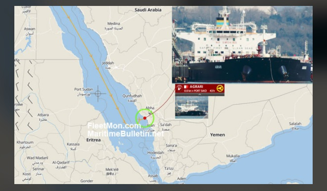 疑也门叛军攻击 沙特港口爆炸波及油轮