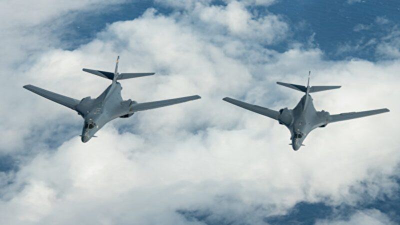 美军轰炸机入中国空域 疑对中共释强硬信号