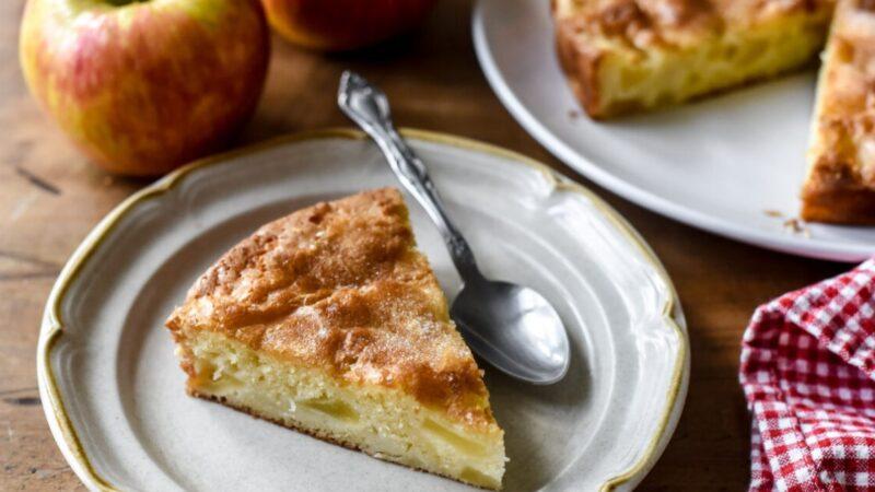 經典的法式蘋果蛋糕(組圖)