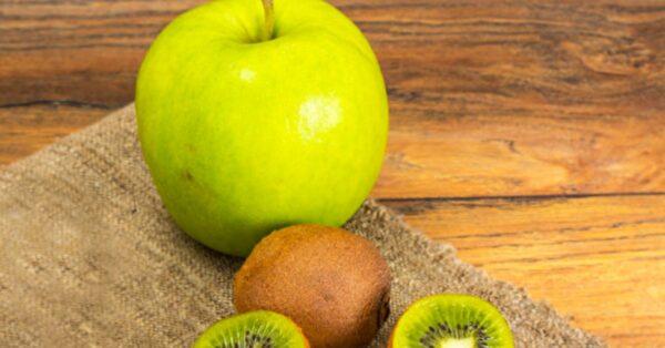 1天2水果癌症远离你 苹果奇异果是抗癌双宝