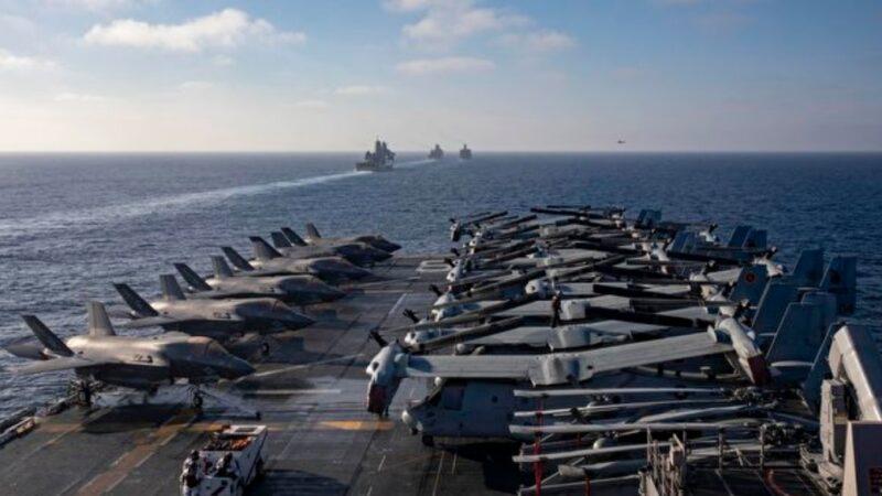 扼制中共 美國海軍擬打造「無人艦隊」