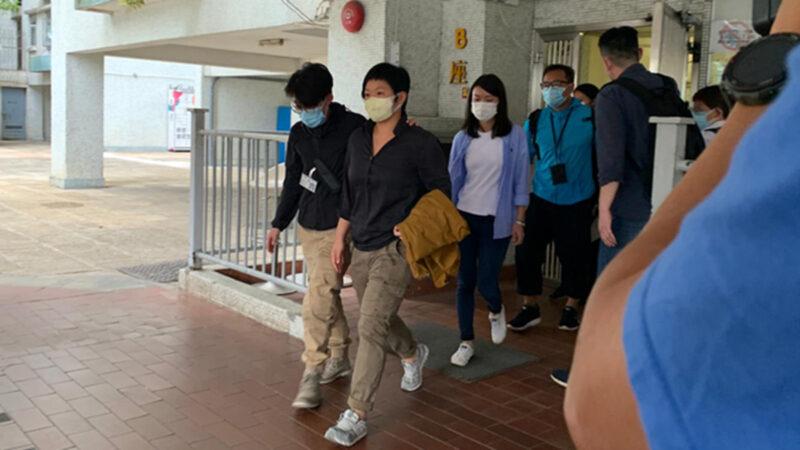 香港電台編導被捕 港警打壓媒體引公憤