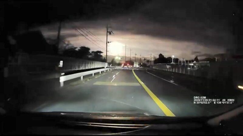 流星消失前突爆炸 如「大火球」照亮日本夜空(視頻)