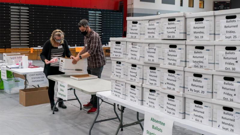 威州郵寄選票印刷錯誤 國民警衛隊協助計票
