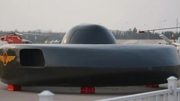 中國開放形似飛碟的飛行器 可能中看不中用