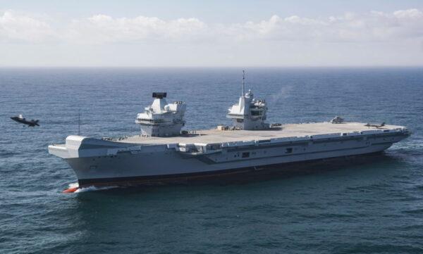 施压中共 英国航空母舰明年派往亚洲