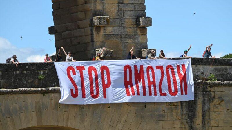 不满发灾难财 法国各界代表呼吁抵制亚马逊