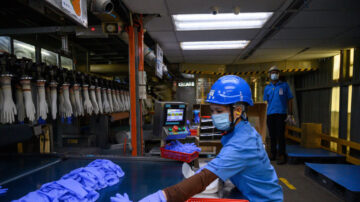 爆群聚感染 全球最大手套製造商遭下令關廠