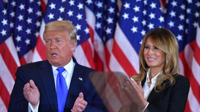打脸CNN恶意中伤 美国第一夫人力挺丈夫