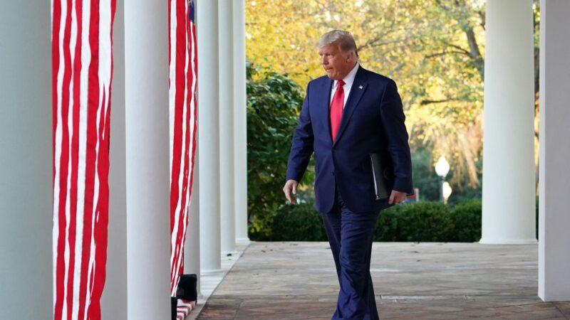 川普遭媒体噤声 动漫天王作品《让我听到总统说话》