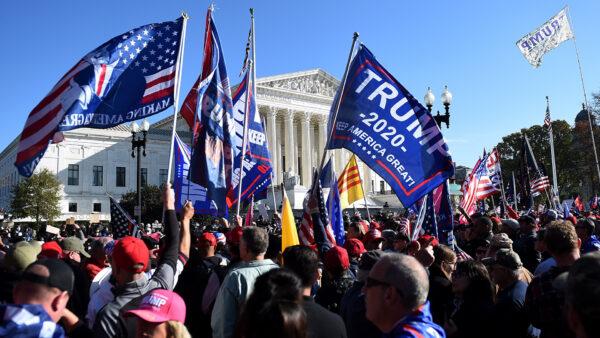 挺川普集會 要求選舉公正 歷史意義重大