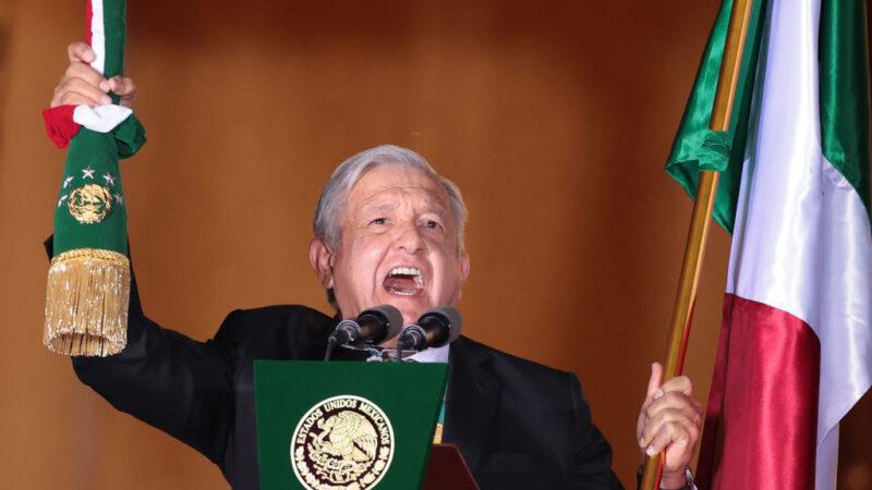 """墨西哥总统仍拒向拜登道贺 """"我们不是傀儡"""""""