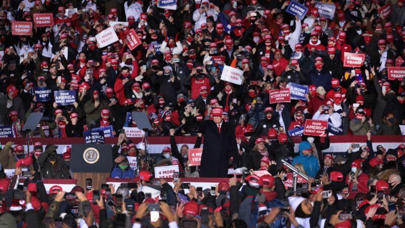 中南海「關心」美國大選 看看黨媒如何宣傳