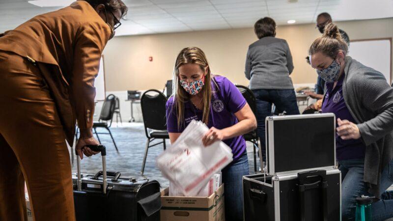 美媒:拜登深夜诡异获得100%选票 川普则是0票