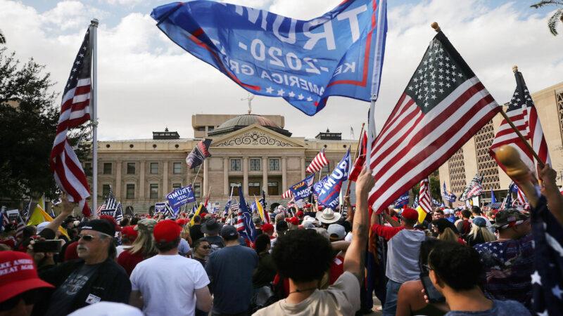 【重播】左媒宣布拜登當選 美50州集會抗議