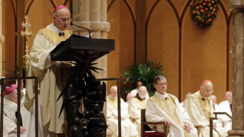 大主教三發公開信:川普不可擊敗 好人都要為他祈禱