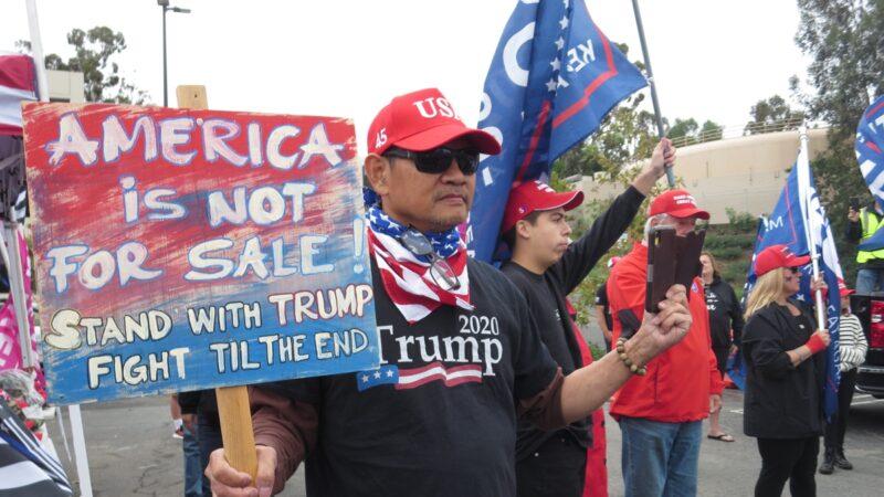 全美各地抗議大選舞弊:我們必須奪回美國(組圖)